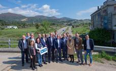 El PP del Bierzo reitera su compromiso con la A-76 en un acto reivindicativo celebrado en O Barco de Valdeorras