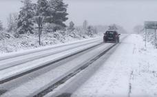 Nieve y frío: el invierno vuelve a León