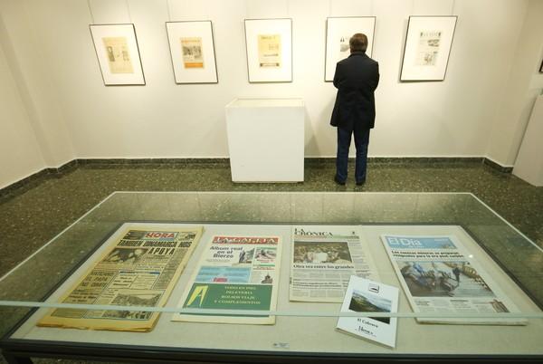 Exposición sobre la prensa local de los siglos XIX y XX en la biblioteca de Ponferrada