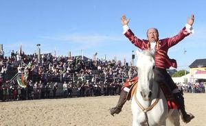 Más de 15.000 personas pasaron por la Feria del Caballo de Camponaraya