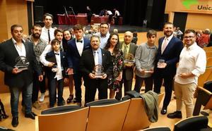 La Gala del 50 aniversario del judo de Castilla y León premia al judo leonés
