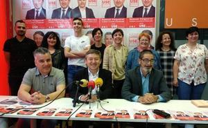 USE Bierzo presenta una candidatura en Toreno «fuerte, joven y decidida» para que el municipio «salga adelante»