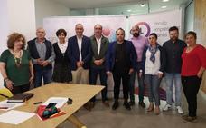 CEL y Templarium piden al candidato del PSOE en Ponferrada apoyo al comercio y apuesta por Ciuden
