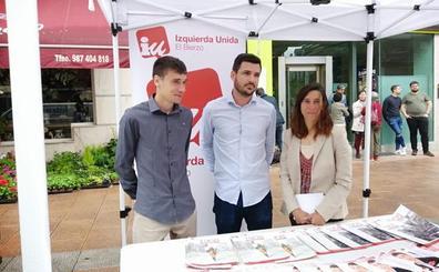 Eduardo Garzón respalda la campaña de IU en Ponferrada abogando por la gestión directa de los servicios públicos