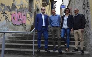El PP plantea un plan de recuperación del casco antiguo de Ponferrada centrado en la calle del Rañadero