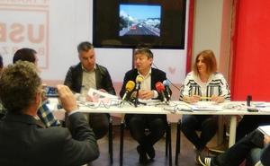 USE propone una red de circunvalaciones que permita descongestionar el centro urbano de Ponferrada