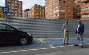 Morala se marca como objetivo recuperar el centenar de plazas del aparcamiento de la calle Obispo Osmundo