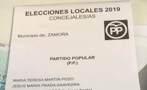 El PP pide a sus votantes que revisen sus papeletas tras detectar un error en el mailing que podría anular el voto