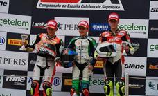 Héctor Yebra vuelve a hacer podio y consolida la tercera posición en el Campeonato de España de Superbikes