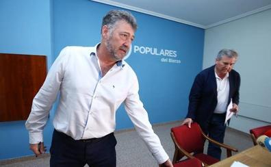 El PP zanja con un «no toca» la renovación de Ponferrada, pero señala a Morala como «presente y futuro» del partido
