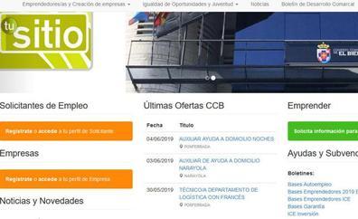 El Consejo Comarcal del Bierzo moderniza la web 'Tusitio.org' para la búsqueda de empleo y la creación de empresas