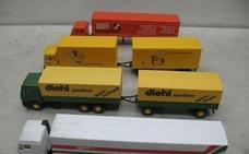 Aficionados de toda España se citan en la exposición de modelismo de camiones y radio control de Toral de los Vados