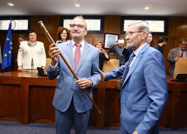Olegario Ramón, alcalde de Ponferrada
