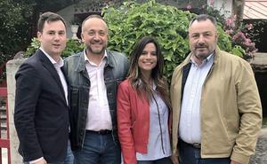 Morán y Courel, ratificados como candidatos del PSOE para presidir la Diputación y el Consejo Comarcal