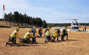 Alumnos del campus de Ponferrada se unen al operativo de lucha contra incendios de la Junta
