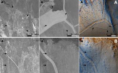 Aviones espía que descubrieron asentamientos romanos en el Bierzo