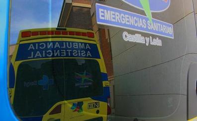 Un accidente entre un turismo y una furgoneta causa siete heridos en la A-6 en Torre del Bierzo