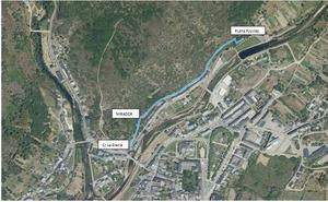 Villafranca acondiciona la senda recreativa lineal entre la calle La Granja y la playa fluvial