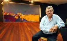 El pintor José Carralero ofrece una conferencia en Carracedo sobre el proceso pictórico