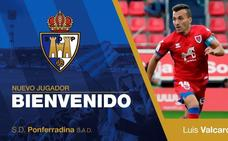 Luis Valcarce, nuevo jugador de la SD Ponferradina