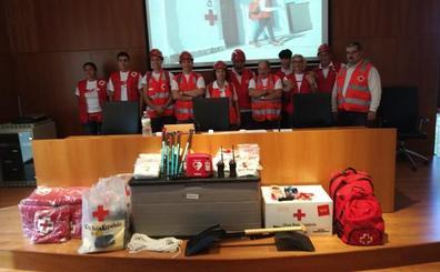 El Equipo de Respuesta Básica en Emergencias (ERBE) de Cruz Roja en Bembibre arranca con 16 voluntarios