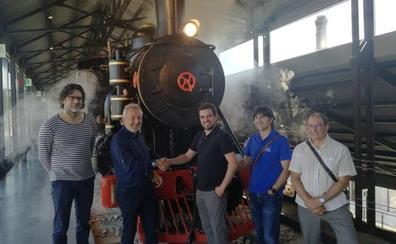 Museo de Energía y Cultural Ferroviaria Berciana se unen para preservar el patrimonio industrial