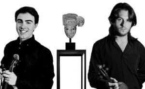 Un dúo de violines cierra Corteza de Encina