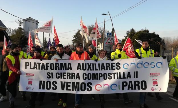 Las auxiliares de Endesa en Compostilla inician de cero los contactos con la Junta sobre su situación «crítica»