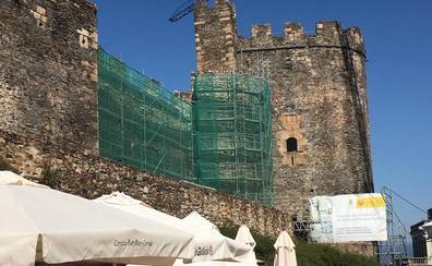 Aparecen los primeros vestigios «interesantes» en las obras de rehabilitación del Castillo Viejo