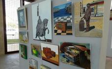 Estación Arte acoge la muestra de la Asociación de Pintores del Bierzo por las fiestas de La Encina