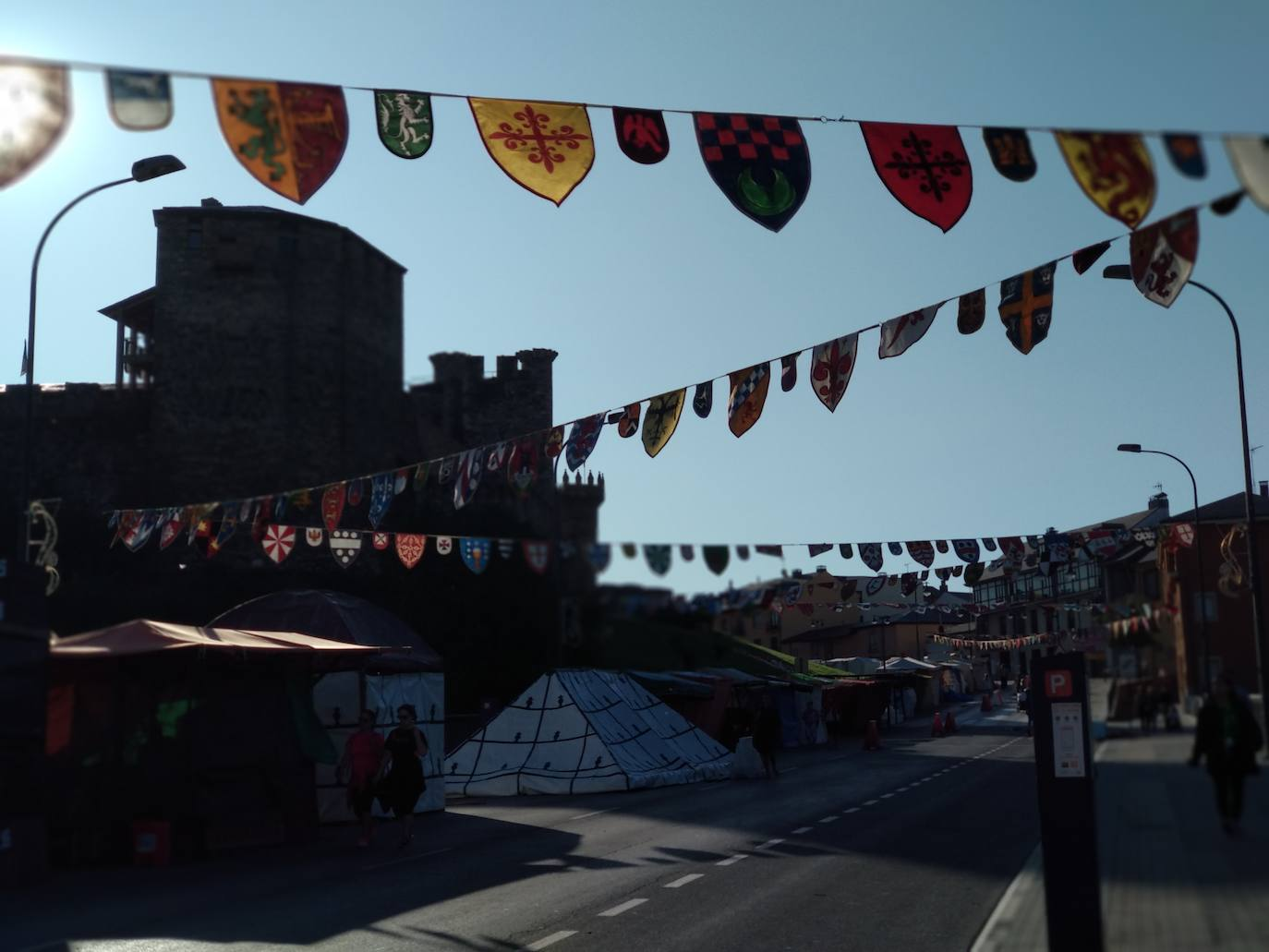 La avenida del Castillo de Ponferrada se transforma