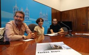 El Museo del Ferrocarril de Ponferrada, escenario del «tributo de memoria» al sector minero de Álvaro Caboalles