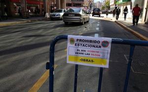 El inicio de las obras de Gómez Núñez cierra al tráfico el tramo desde la plaza de Lazúrtegui a la avenida de Valdés