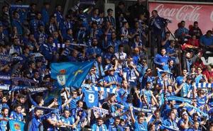 La Deportiva abrirá todo el fondo sur a la afición del Real Oviedo