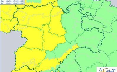 Alerta amarilla por lluvias en León, que podrían llegar a 20 litros por metro cuadrado