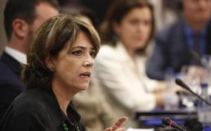La ministra Dolores Delgado participa este domingo en Camponaraya en la fiesta provincial del PSOE leonés
