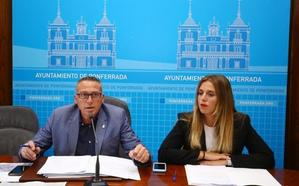 Ponferrada convertirá en naranja 600 plazas para aparcar de la zona azul de la ORA en el centro de la ciudad