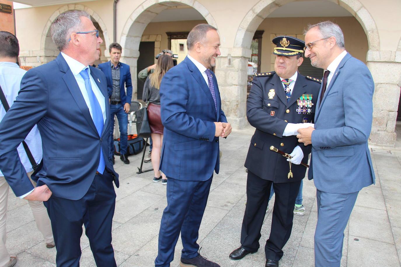 La Policía Nacional de Ponferrada celebra su patrón