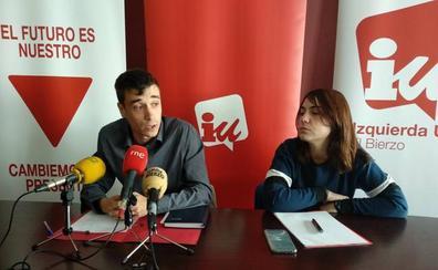 IU critica el gobierno «de continuidad» del tripartito en Ponferrada y urge la municipalización del TUP y del servicio de limpieza