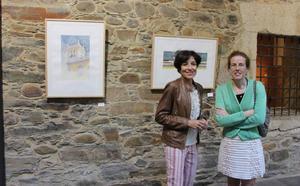 La pintora asturiana Begoña Vega muestra su «paseo emocional» por Ponferrada en el Museo del Bierzo