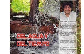 El autor berciano Manuel Cuenya presenta en Bembibre su libro 'Del agua y del tiempo'