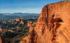 El paraje de Las Médulas cuenta con el tercer mejor atardecer de España, según la revista Condé Nast Traveler