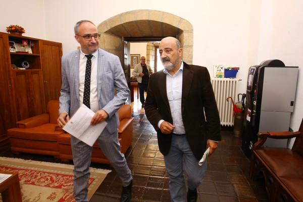 El alcalde de Ponferrada se reúne con el presidente de la Confederación Hidrográfica del Miño-Sil