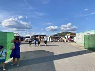 Inauguración del recinto ferial en las fiestas de la Encina