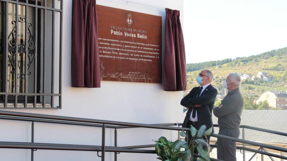 Ponferrada rinde homenaje a Pablo Voces