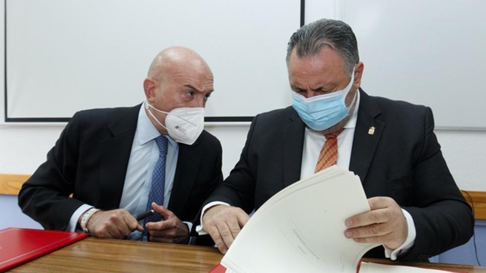 La Junta y la Diputación de León renuevan el convenio para la continuidad del Cifp de Almázcara