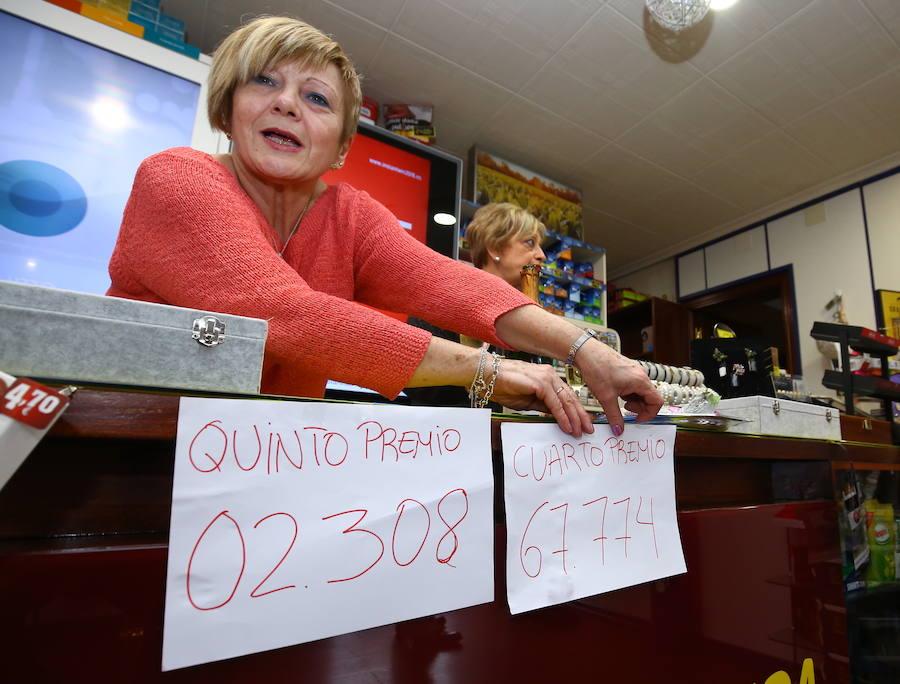 Los premios de la Lotería de Navidad en la provincia de León