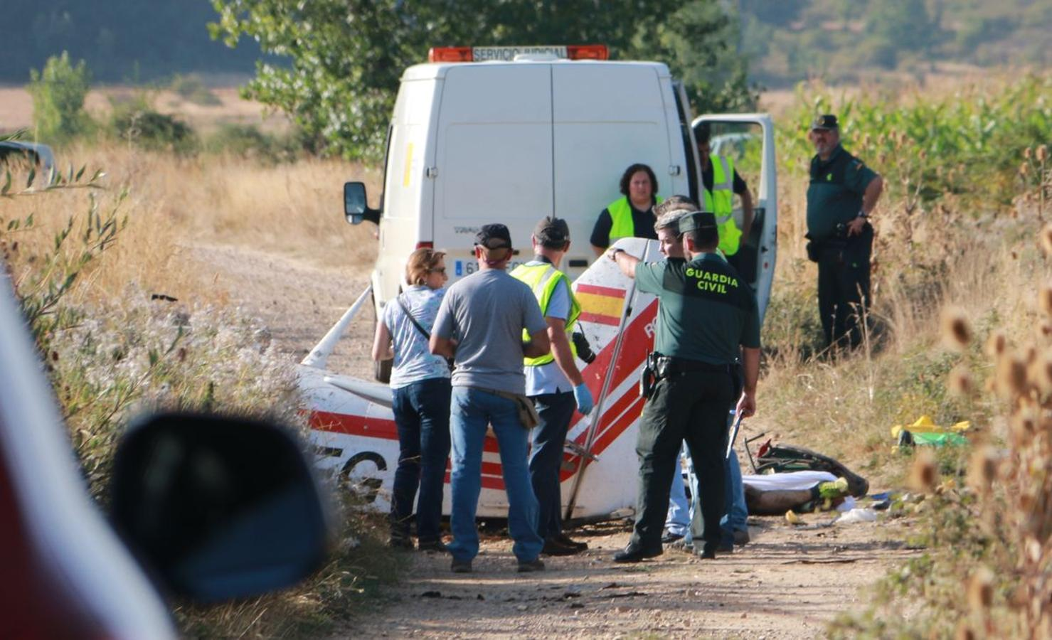 Accidente de avioneta en León