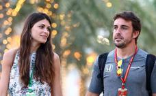 Fernando Alonso, con Linda Morselli