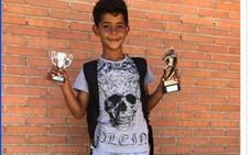 El hijo de Cristiano Ronaldo, pichichi